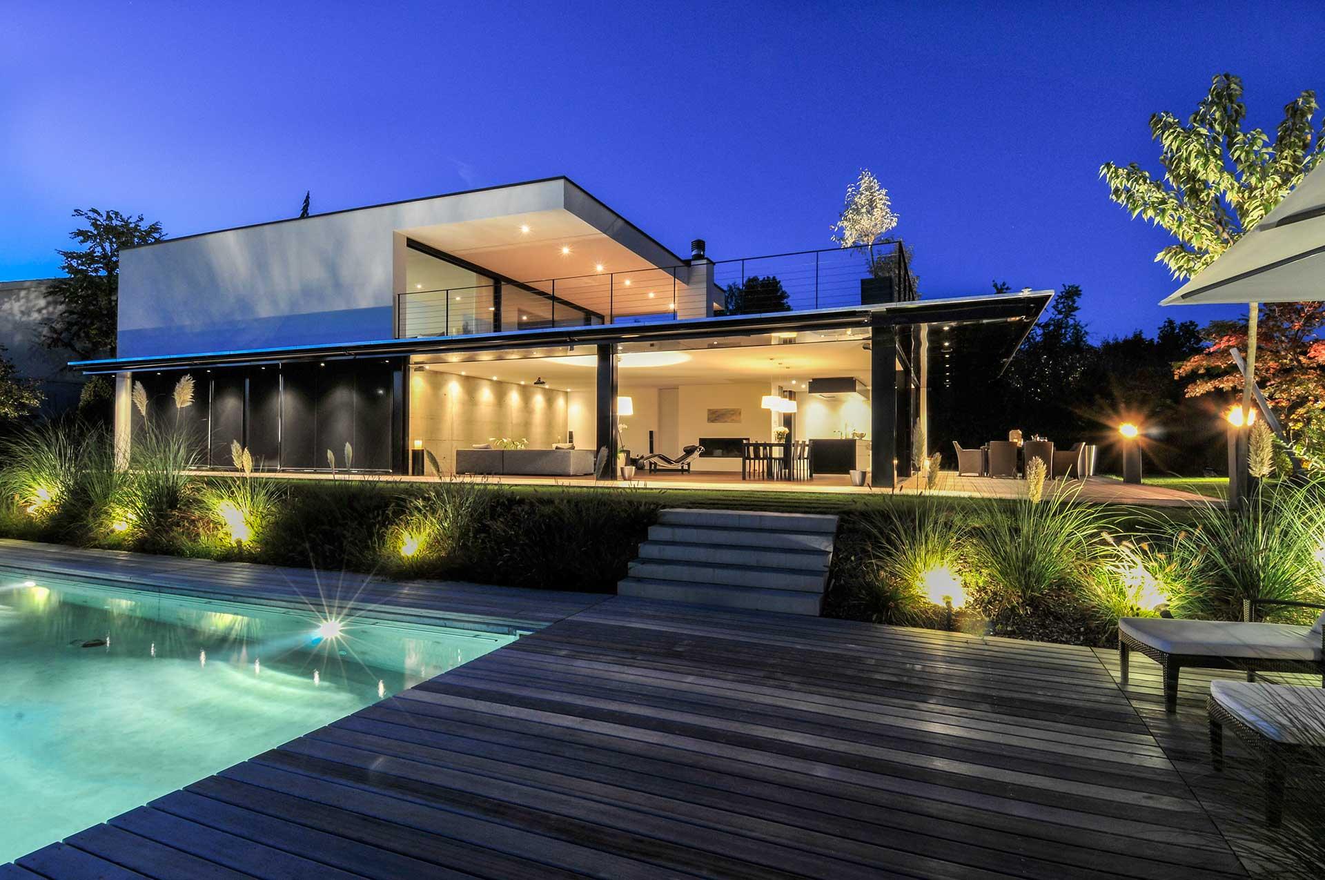 Modern wohnen, modern leben, modern bauen